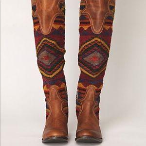 Free Bird Aztec boots